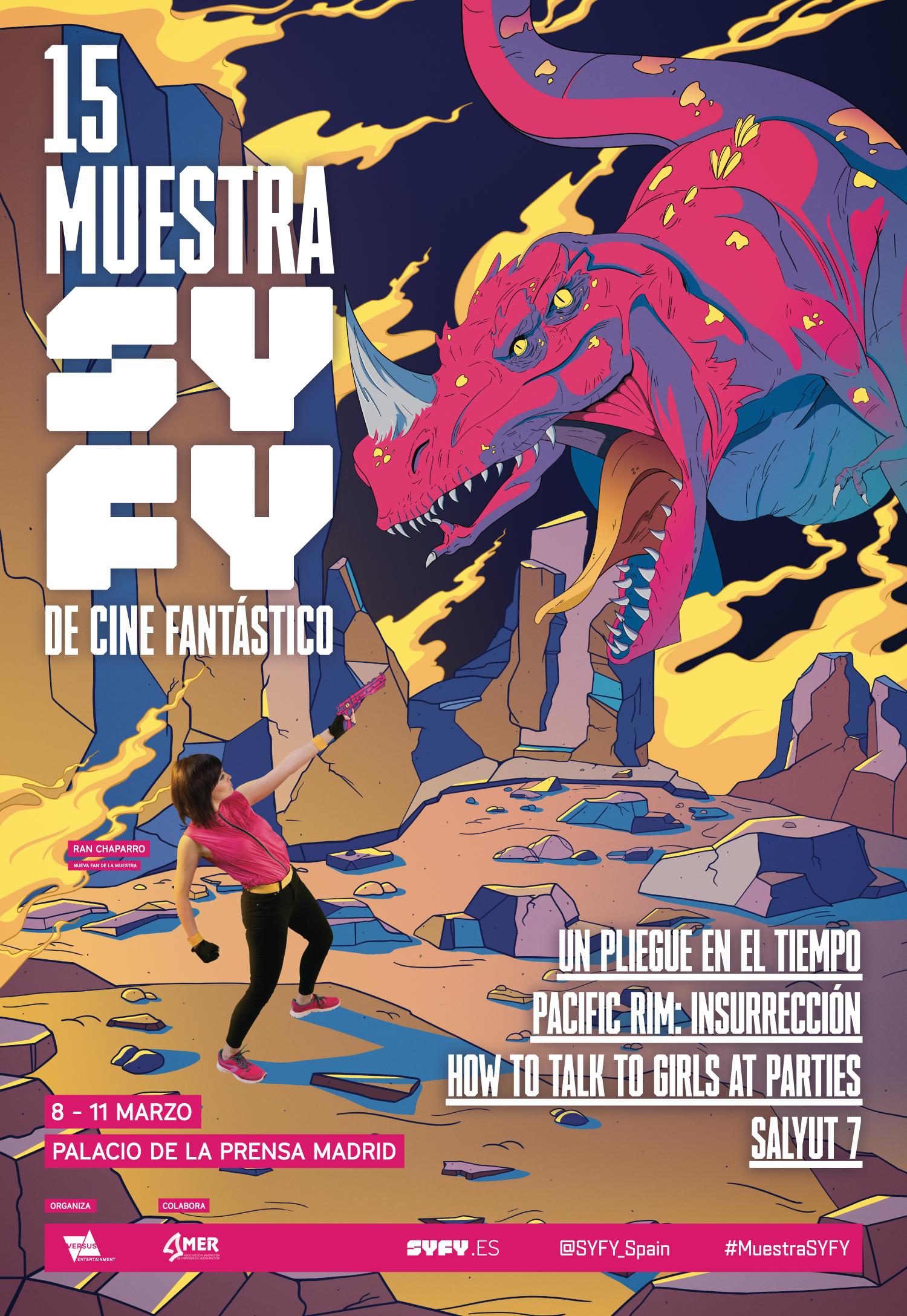 XV Muestra SYFY De Cine Fantástico, Del 8 Al 11 De Marzo