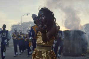Marching Band In ASSASSINATION NATION. Courtesy Of NEON