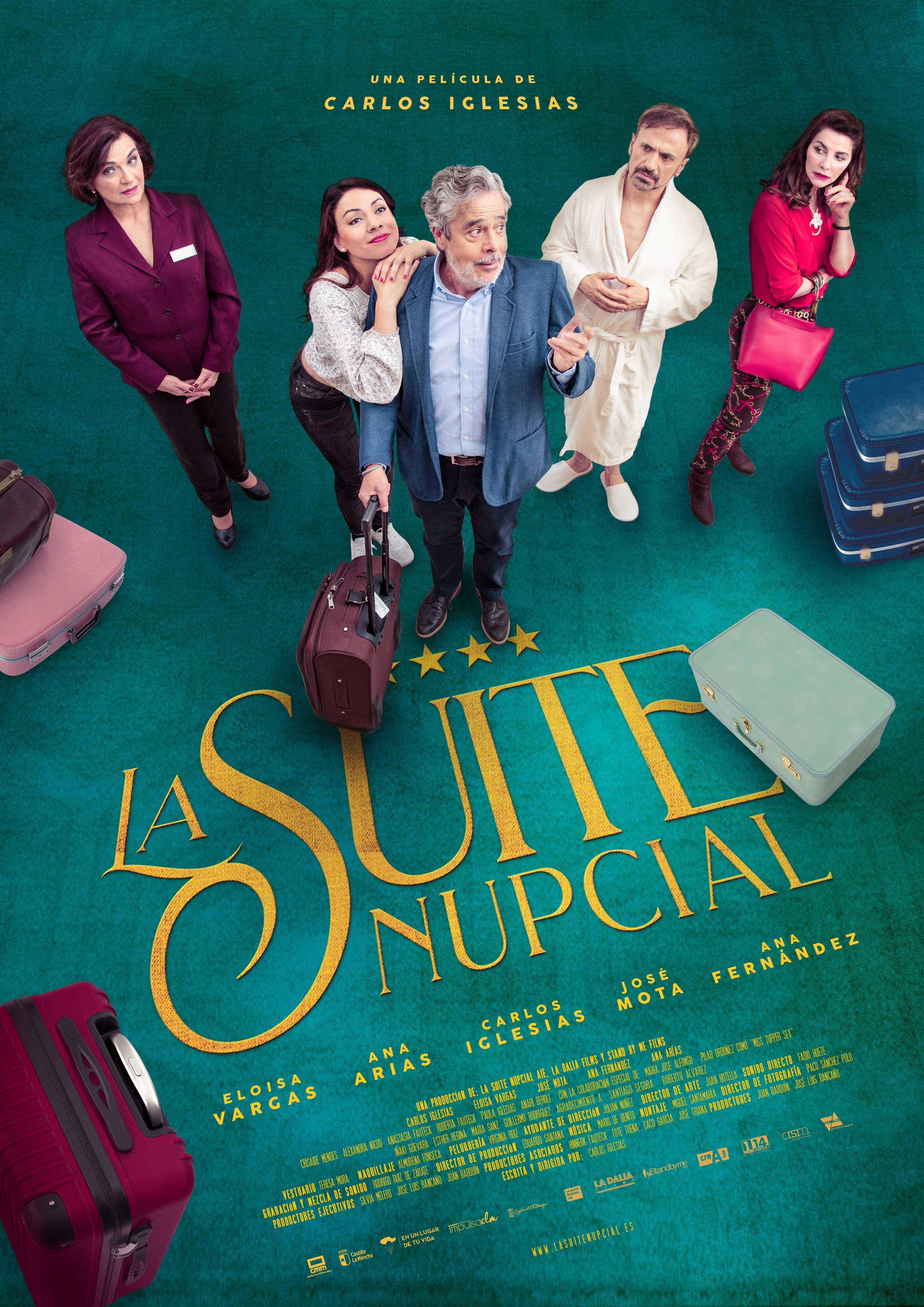 La Suite Nupcial, La última Comedia De Carlos Iglesias, El 10 De Enero En Cines