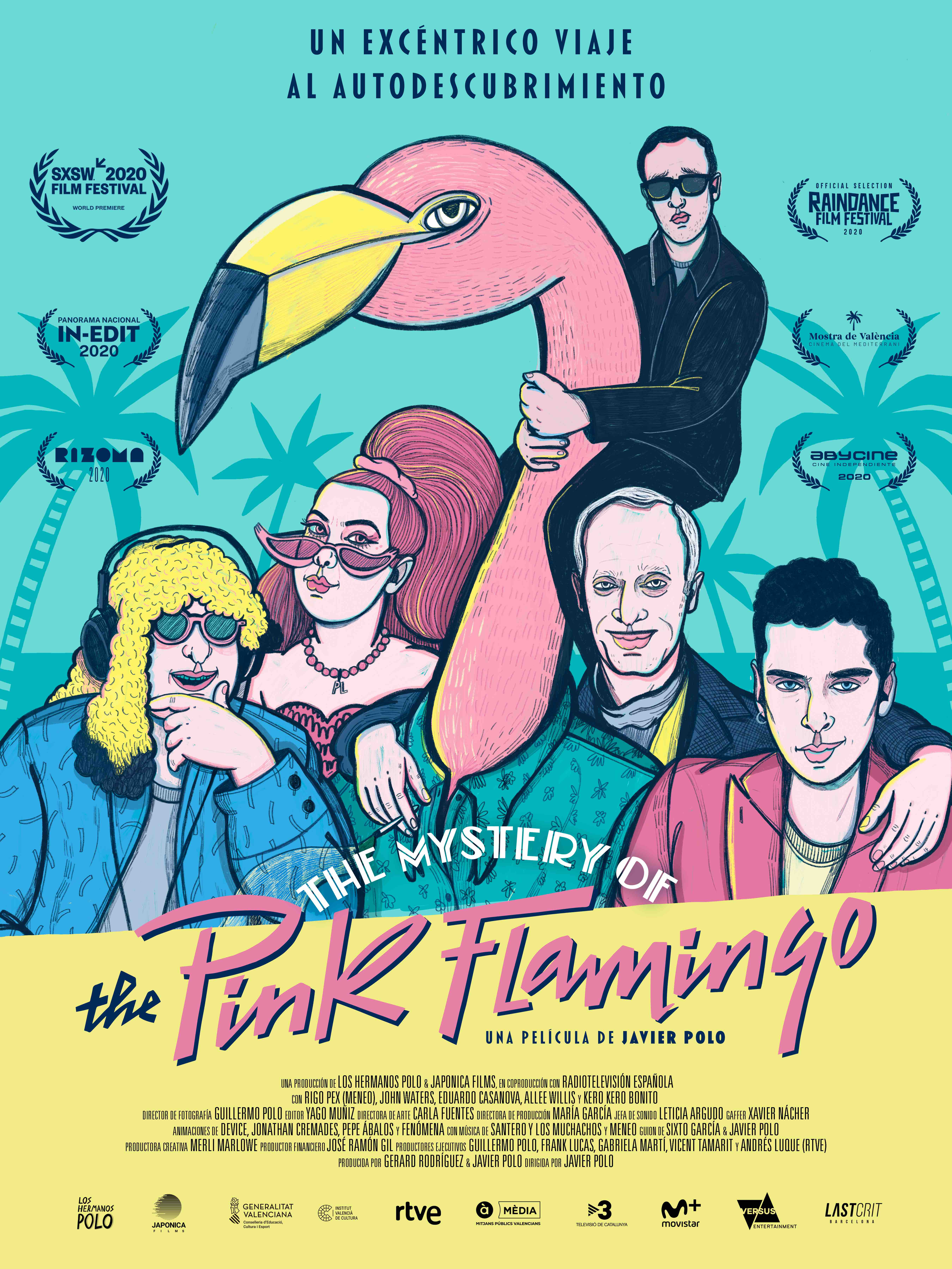 Los Flamencos Asaltan La Gran Pantalla Con 'The Mystery Of The Pink Flamingo'